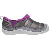 KEEN Kids' Howser II Shoe - 11 - Steel Grey / Wood Violet
