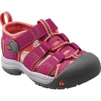 KEEN Toddler Newport H2 Shoe - 6 - Ribbon Red / Gargoyle