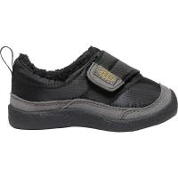 KEEN Toddlers' Howser Low Wrap Shoe - 7 - Black / Steel Grey