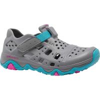 Merrell Girls' Hydro Canyon Shoe - 11 - Grey / Turq