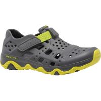 Merrell Boys' Hydro Canyon Shoe - 13 - Grey / Lime