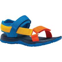 Merrell Boys' Kahuna Web Sandal - 4 - Blue Multi