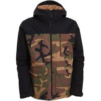 Billabong Men's All Day Jacket - XL - Woodland Camo