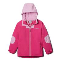 Columbia Girls' Titanium Rad To The Bone II Stretch Jacket - XL - Pink Ice/Pink Clover