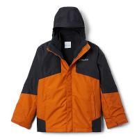 Columbia Boys' Bugaboo II Fleece Interchange Jacket - XL - Brt Indigo Chevron Print / Brt Indigo