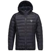 Rossignol Boys' Light Hooded Jacket - 12 - Black
