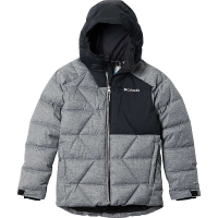 Columbia Boys' Winter Powder Quilted Jacket - Large - Mountain Red / Dark Purple