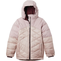 Columbia Girls' Winter Powder Quilted Jacket - XL - Mineral Pink / Mineral Pink Sheen