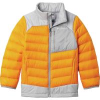 Columbia Boys' Autumn Park Down Jacket - XL - Flame Orange / Columbia Grey