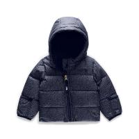 The North Face Infant Moondoggy 2.0 Down Jacket - 3M - Montague Blue Denim Print