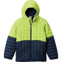 Columbia Boys' Humphrey Hills Puffer Jacket - XL - Bright Indigo / Collegiate Navy