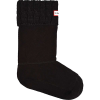 Hunter Women's Original 6 Stitch Cable Short Boot Sock - Large - Black