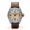 Filson Standard Issue Field Watch - 41mm - Olive Green Leather Strap / Cream Dial