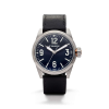 Filson Standard Issue Field Watch - 41mm - Black Leather Strap / Navy Dial