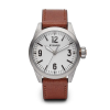 Filson Standard Issue Field Watch - 36mm - Brown Leather Strap / White Dial