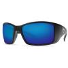 Costa Del Mar Men's Blackfin Polarized Sunglasses - One Size - Black/Blue Glass W580