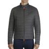 Save The Duck Men's Lightweight 3-Pocket Jacket - XL - Charcoal Grey