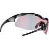 Bliz Sprint Sunglasses - One Size - Shiny Black / Brown / Red Multi