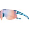 Julbo Aerospeed Sunglasses - One Size - Cyan Blue/Blue/Zebra Light Red