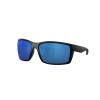 Costa Del Mar Men's Reefton Polarized Sunglasses - One Size - Blackout/Blue 580P