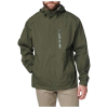 5.11 Tactical Men's Aurora Shell Jacket - Medium - Moss