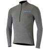 Alpine Stars Men's Booter Warm Jersey - Large - Melange Grey / Atoll Blue