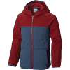 Columbia Youth Boys Take A Hike Softshell Jacket - Large - Dark Mountain / Red Element