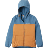 Columbia Youth Boys Take A Hike Softshell Jacket - Large - Canyon Gold/Blue Heron