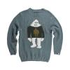 Airblaster Men's Sassy Sassy Sweater - Large - North Atlantic