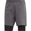Adidas Men's Agravic 2in1 Short - Small - Grey Five