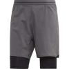 Adidas Men's Agravic 2in1 Short - Large - Grey Five