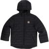 Carhartt Kids' Gilliam Hooded Jacket - Large - Caviar Black