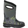 Bogs Kids' Classic Axel Boot - 10 - Dark Grey Multi