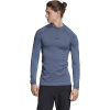 Adidas Men's Primeknit LS Top - XL - Tech Ink