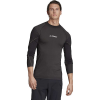 Adidas Men's Primeknit LS Top - XL - Black