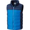 Columbia Youth Girls Powder Lite Puffer Vest - Small - Super Blue / Collegiate Navy
