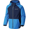 Columbia Boys' Hidden Canyon Softshell Jacket - XL - Super Blue / Collegiate Navy