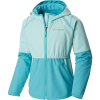Columbia Girls' Hidden Canyon Softshell Jacket - Small - Gulf Stream / Geyser Heather