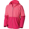 Columbia Girls' Hidden Canyon Softshell Jacket - Large - Wild Geranium / Haute Pink Heather