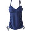Prana Women's Moorea Tankini - Medium - Blue Anchor