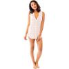 Carve Designs Women's Middleton Tunic - Large - Flamingo Boardwalk