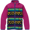 Burton Kids' Spark Collar Full-Zip Sweatshirt - Small - Leopardy Cat / Fuchsia