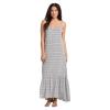 Billabong Women's Wave Chaser Maxi Dress - Medium - Black / White