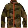 Burton Kids' Spark Collar Full-Zip Sweatshirt - Medium - Three Crowns Camo
