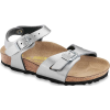 Birkenstock Kids' Rio Sandal - 28 - Silver Birko - Flor