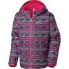 Columbia Youth Pixel Grabber Reversible Jacket - Small - Haute Pink Chevron