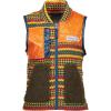 Obermeyer Boy's Indy Fleece Vest - Large - Retro Geo
