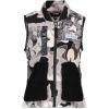 Obermeyer Boy's Indy Fleece Vest - Large - Critters Only Camo
