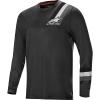Alpine Stars Men's Alps 4.0 LS Jersey - XL - Melange Dark Gray / Black
