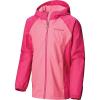 Columbia Girls' Endless Explorer Jacket - Medium - Wild Geranium Hthr / Haute Pink Hthr
